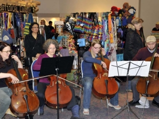 Juneau Cello Choir 2526
